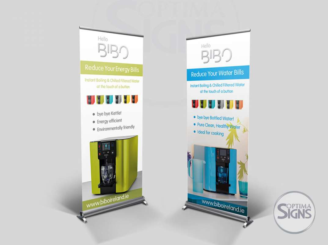 Bibo Ireland Pull up banners