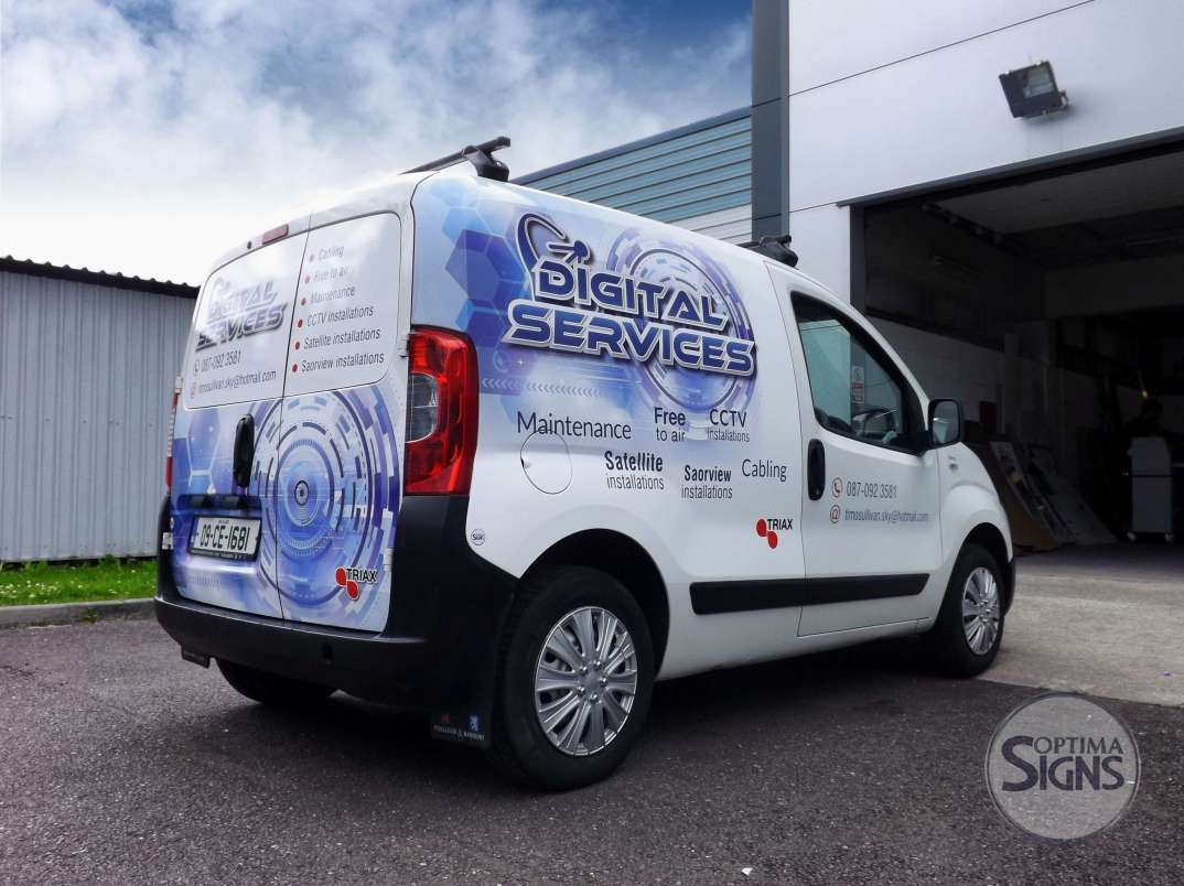 Cork vehicle signwriting