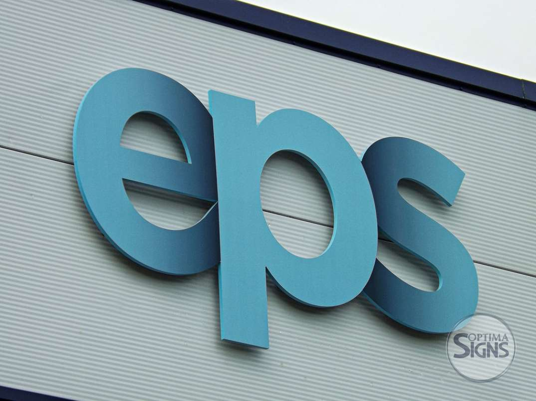 EPS raised letters