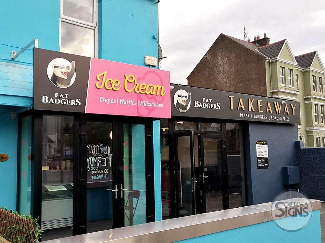 FatBadgers_IceCream&TakeAway_raisedsigns_Cork