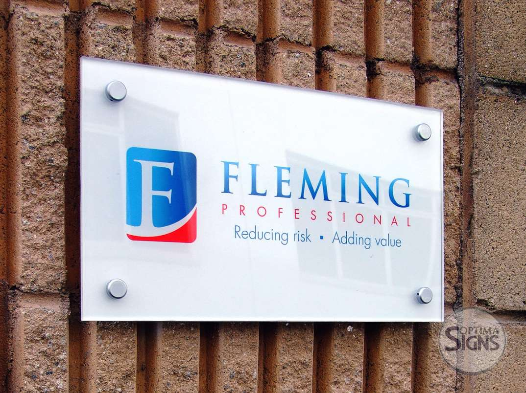 Fleming Acrylic Plaque