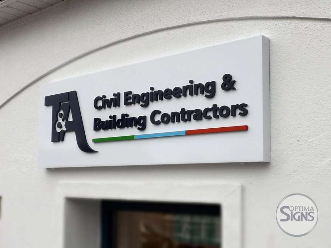 T&A-CivilEng.folded-sign