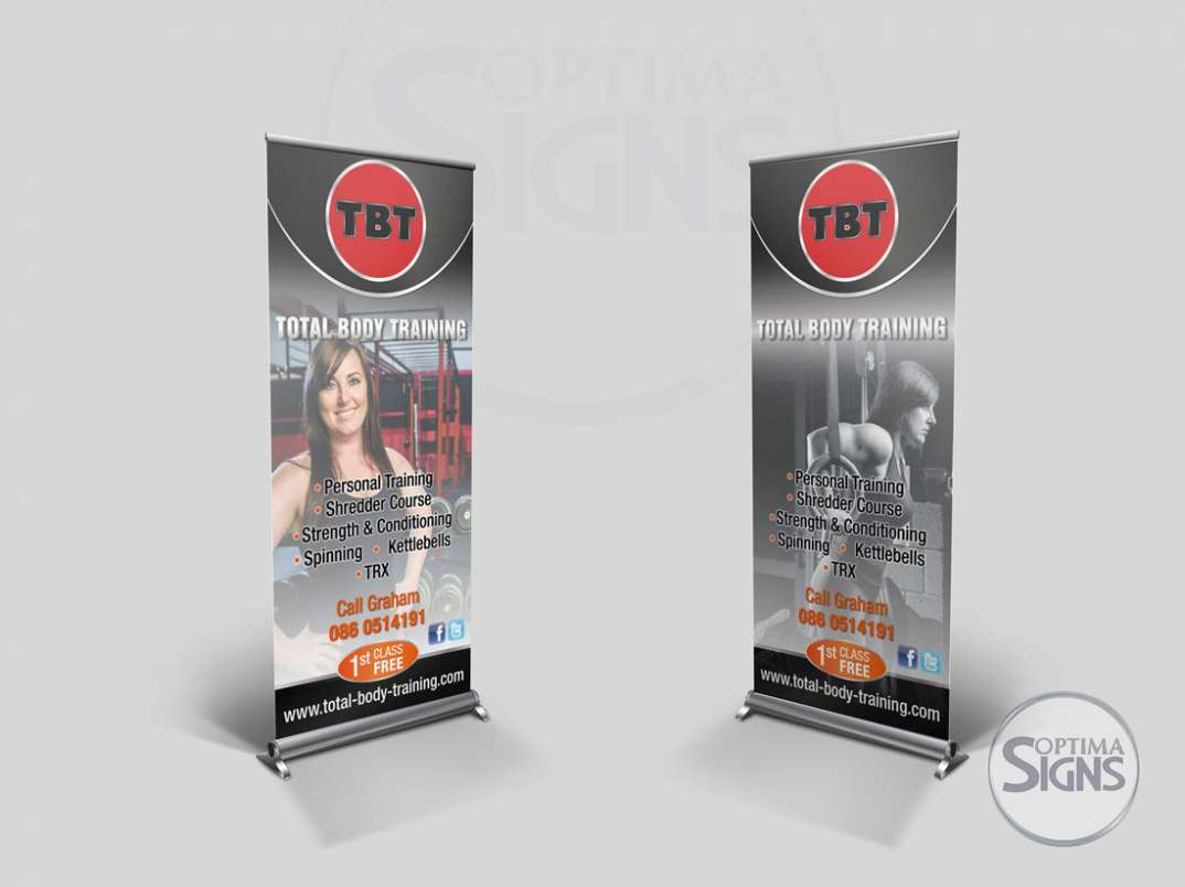 Cork gym banners