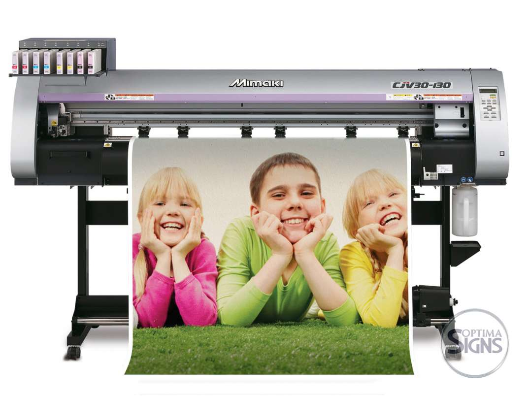 Full colour wide format printint