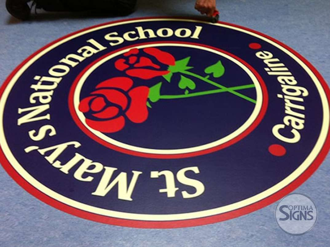 School Indoor Floor Graphic