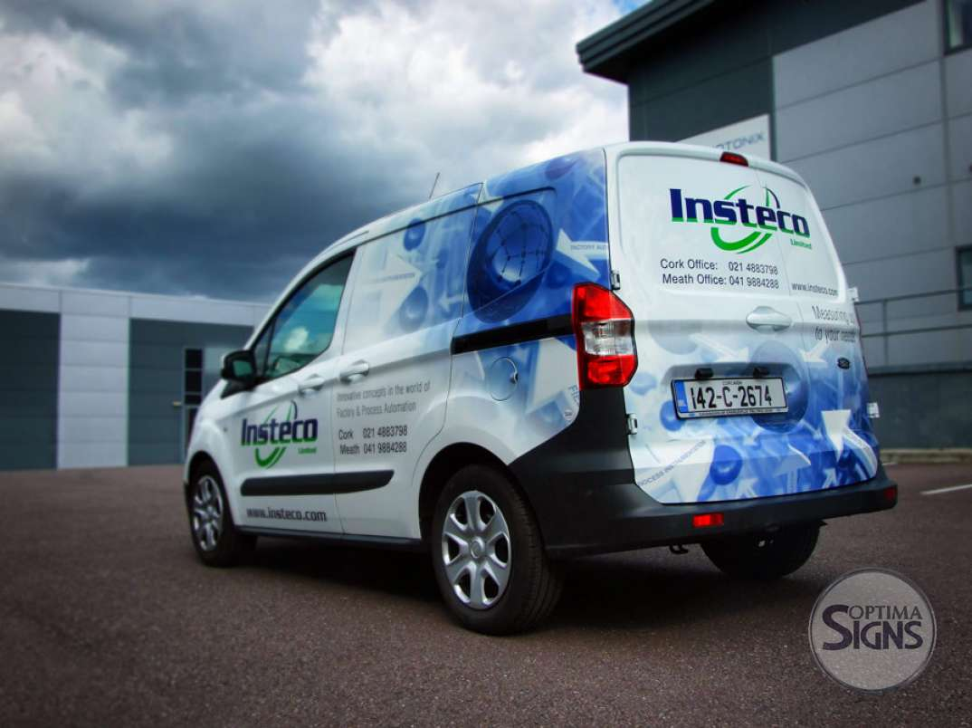 Insteco Van  wrapping