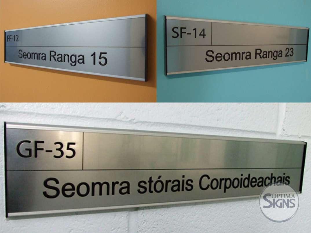 Irish school signs Cork