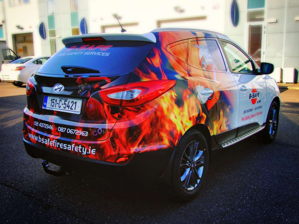 Vehicle Wrapping Optima Signs Signage Cork