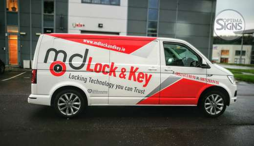 Sign writing VAN Cork