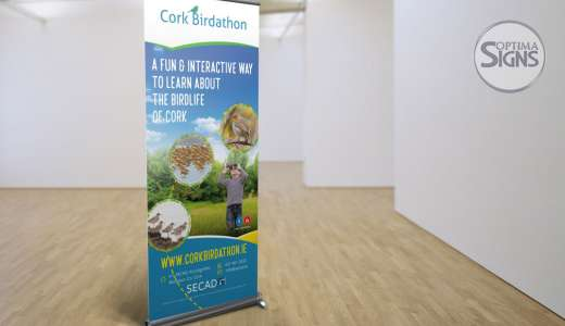 SECAD Cork Pull Up Banners