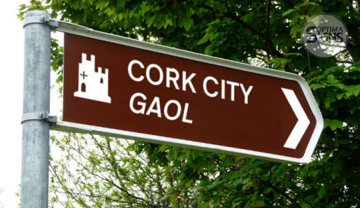 Cork City Gaol Fingerpost sign