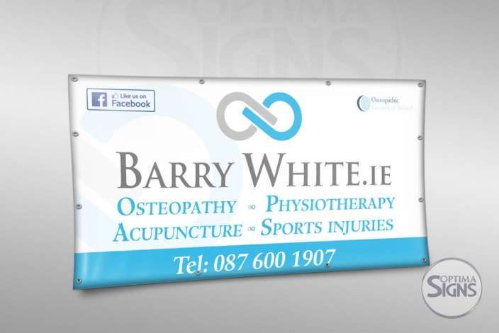 Barry White Osteopath banner