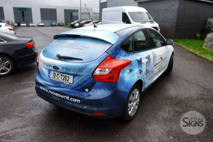 Creative Vehicle wrap Cork