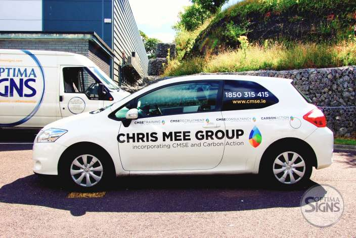 Chriss Mee Group vehicle graphic