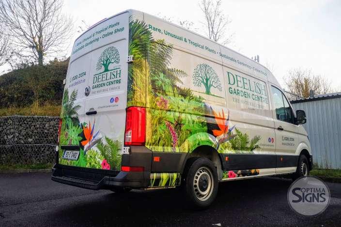 Deelish Garden Centre VAN wrap