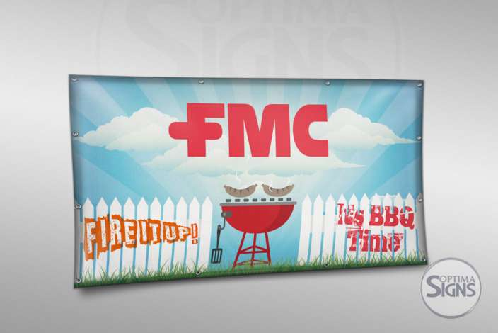 High quality PVC banner FMC Cork