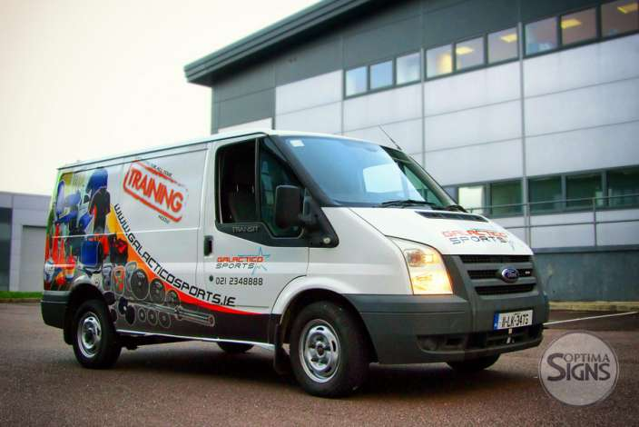 Galactico Sports VAN graphic